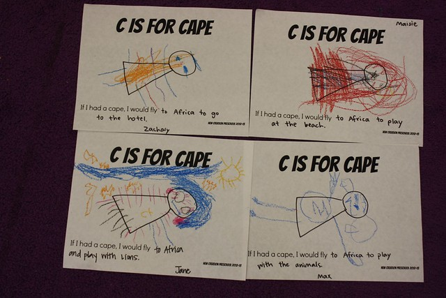 c is for cape