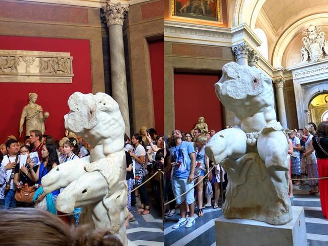 Vatican Museum- Belvedere Torso