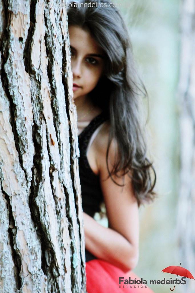 Book 15 anos Fernanda Woycick em Horto Florestal de Pouso Alegre