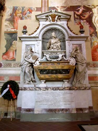 sepolcro Galileo Galilei Santa Croce Firenze