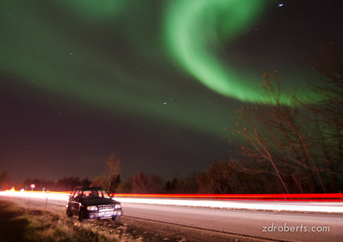 Aurora over Anchorage October 12, 2012