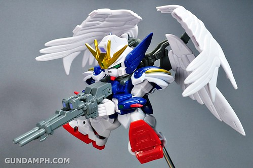SDGO Wing Gundam Zero Endless Waltz Toy Figure Unboxing Review (32)