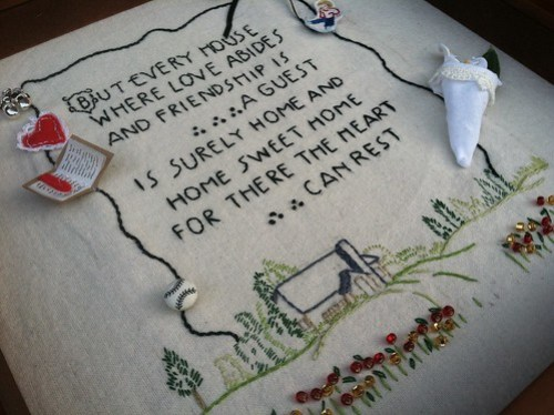 Vintage embroidery contest 2013