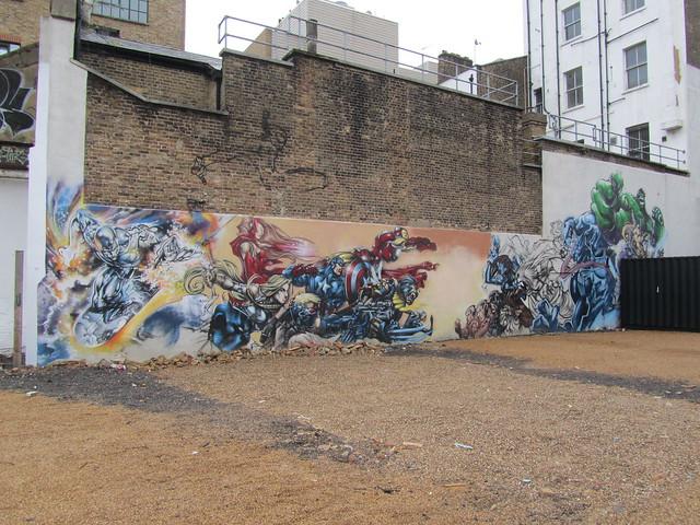 Superheroes, Shoreditch
