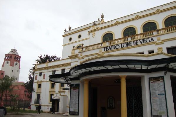 Parte exterior del teatro