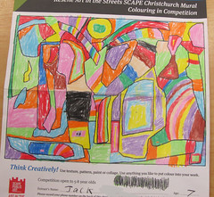 SCAPE Colouring Competition - 2nd prize