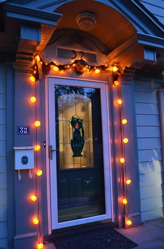 Halloween outdoor lights