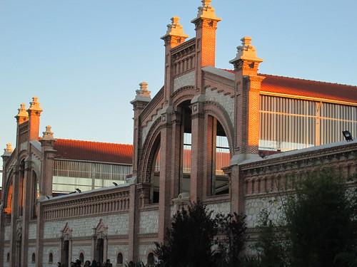 Atardecer en Matadero Madrid. Madrid