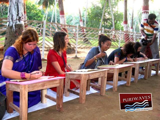 2nd Raghurajpur International Art & Craft Exchage, 2012