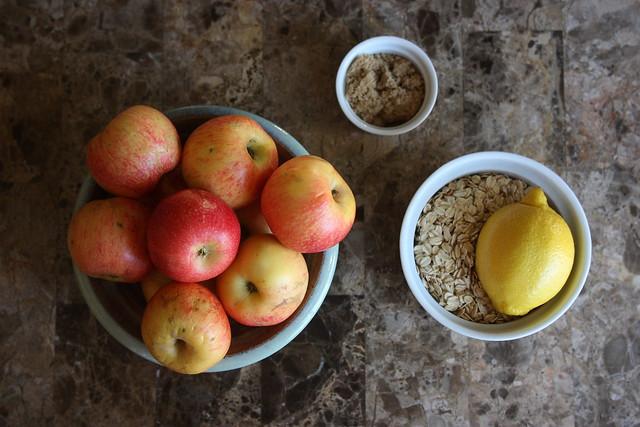 Organic Gala Apple Crumble