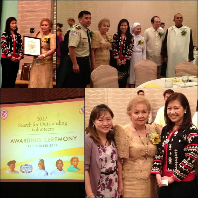 Mary Ang, Outstanding Volunteer Awardee