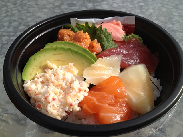 5 color sushi bowl - Island Gourmet Markets