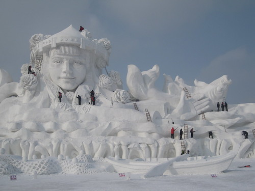 2013-01-24_21-40-54 Harbin Snow Sculpture Park at Sun Island