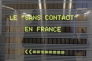 Colloque sur le sans contact à Bercy