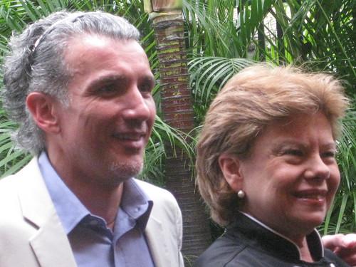 MARIO ARANAGA Y NURY GOMEZ DE SUCRE
