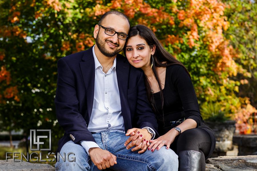 H & K's After-Wedding Shoot | Piedmont Park | Atlanta Tennessee Pakistani Wedding Photographer