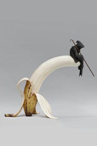 Theo Mercier la banane galerie Gabrielle Maubrie DR