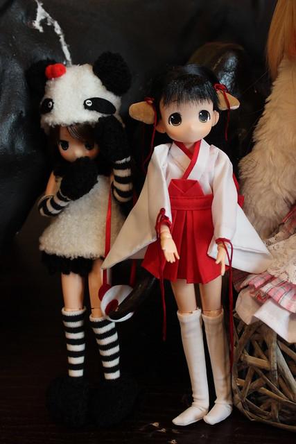 Panda and Momo-chan