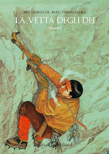 Cover La vetta degli Dei - vol. 2 di Jiro Taniguchi by Rizzoli Lizard Gallery