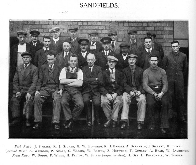Sandfields Pumping Station Staff