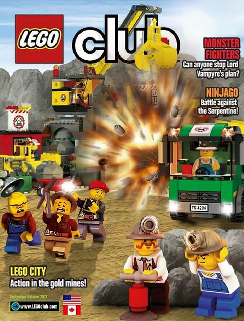 LEGO Club wrzesień-październik