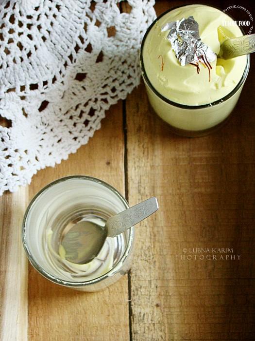 Saffron Mousse