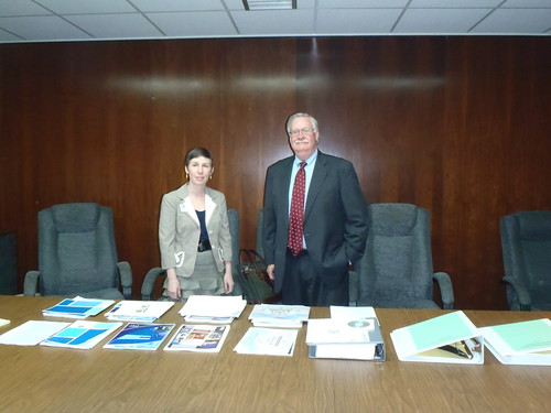 Kelly Lenz, Library Director, Tom Gooding, Attorney