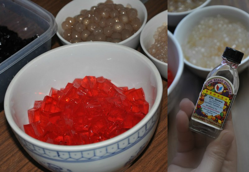 Sago at Gulaman Ingredients