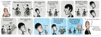 Stephen Collins cartoon: the Beatles