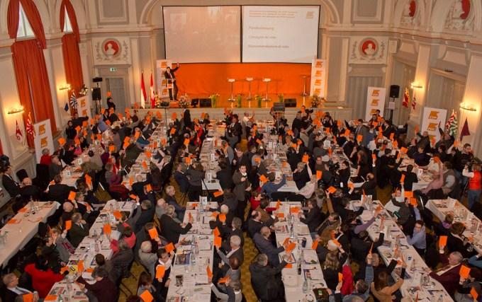 CVP Delegiertenversammlung in Olten, via flickr Photostream der CVP Schweiz