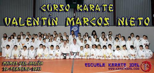 Foto de Grupo del Curso de Karate Valentín Marcos