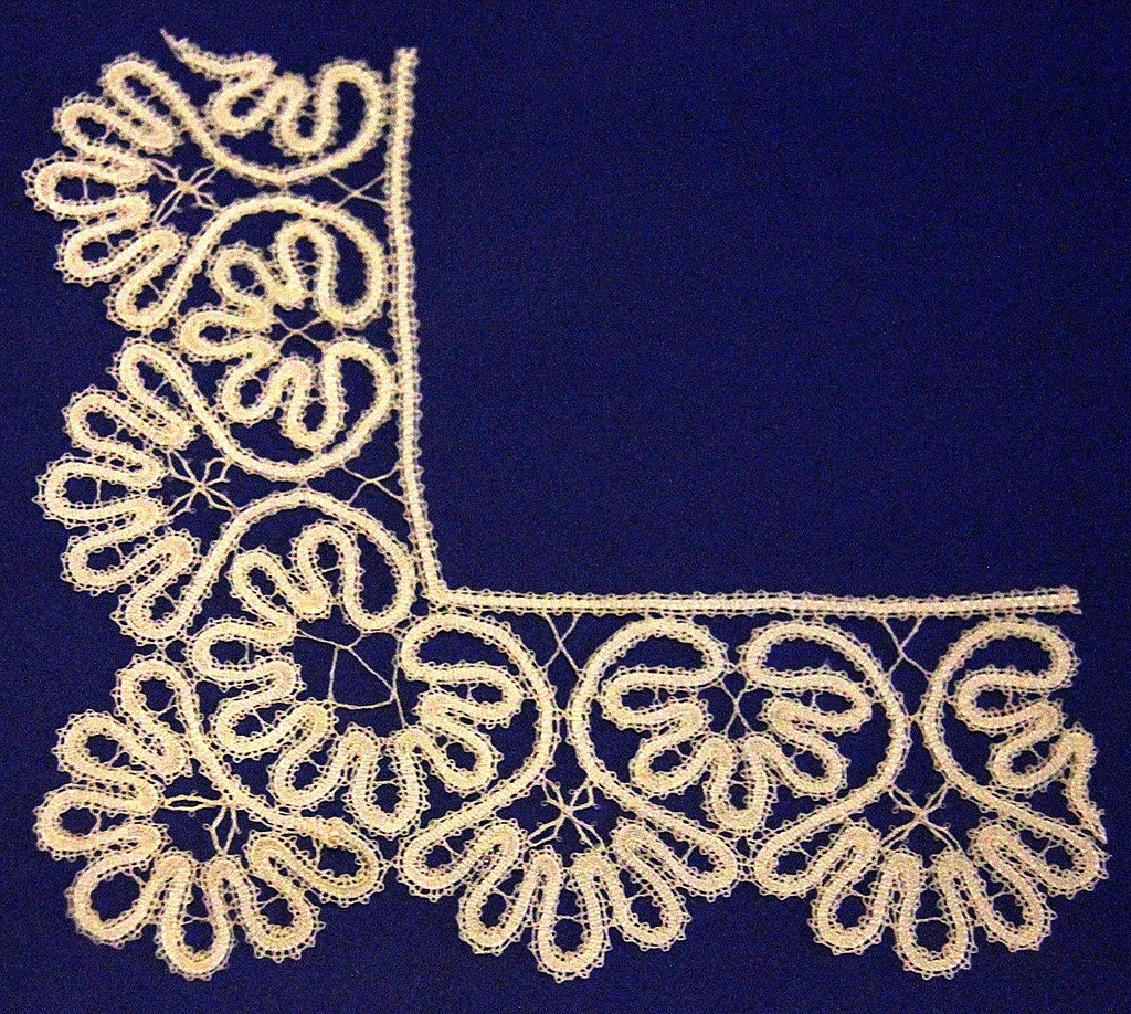 The Kantcentrum has many old Brugge lace pieces on display