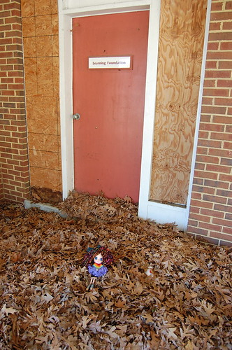 Blybe at an abandoned office strip. Hampton, VA