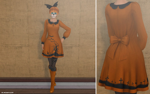 Halloween casual outfit or student witch !
