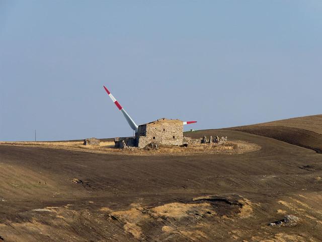 eolico industriale - Candela - FG - la masseria con le ali
