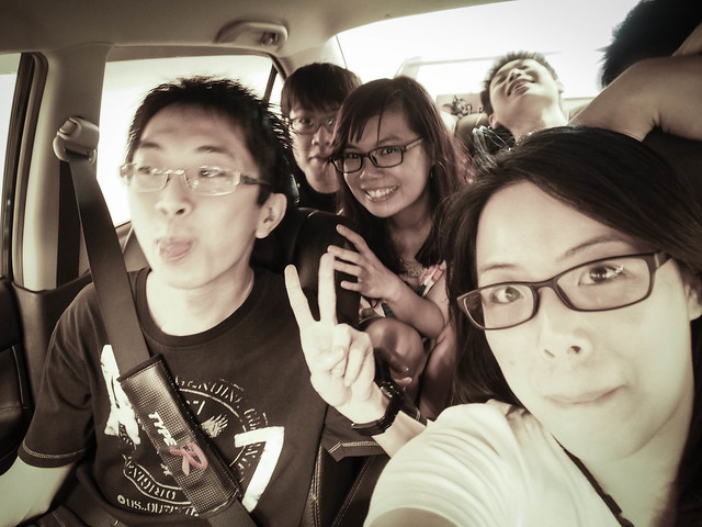 Cam whoring in the car :p