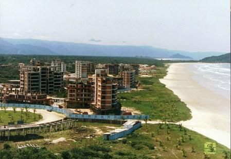 1987 - Vista dos prédios no módulo 4