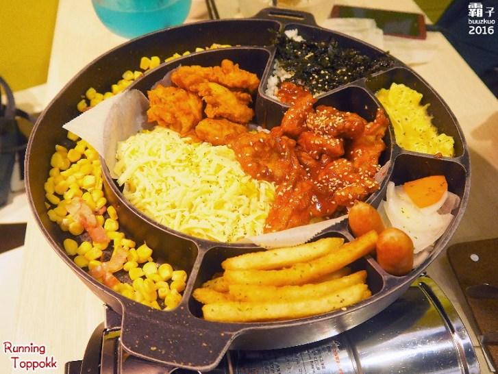 29493479205 086c85cf75 b - 奔跑吧!年糕鍋,一中街的韓國年糕鍋專賣,起司雞鍋炸雞沾起司吃,好邪惡阿~