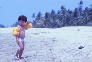 1982 - Me at beach