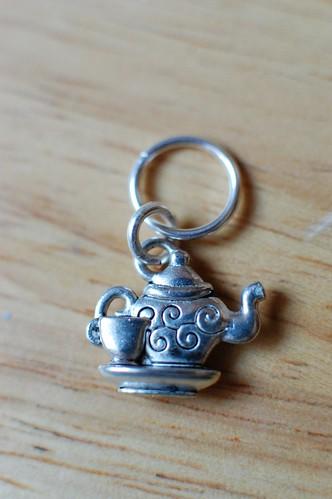 Tea Time Stitch Marker