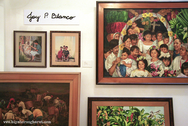 santacruzan and paintings of gay blanco