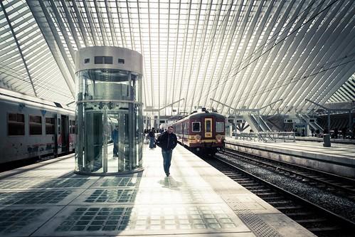 Urban Mythologies : Ulysses Travels (Liège-Guillemins) - Photo : Gilderic