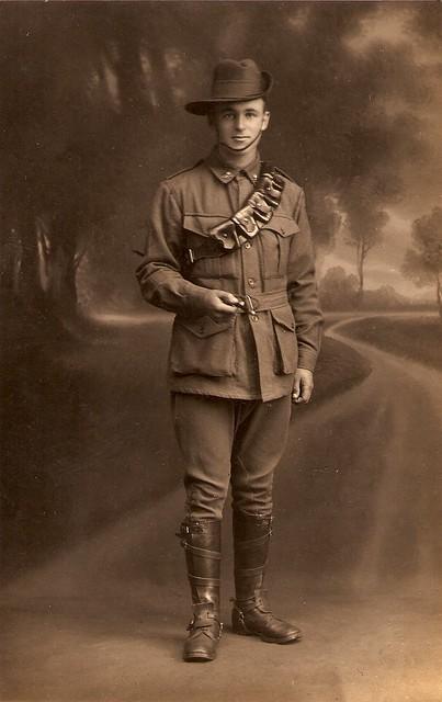 Australian soldier ww1 1291