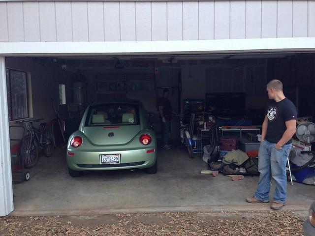 Beetle in the Garage