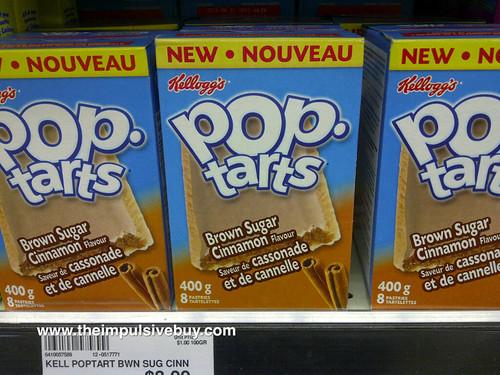Brown Sugar Cinnamon Pop-Tarts (Canada)
