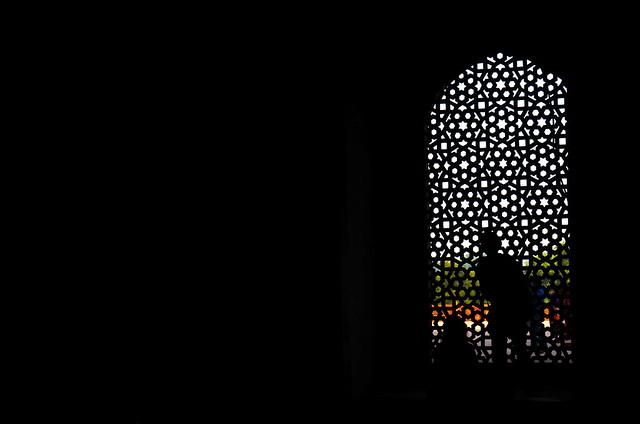 humayun's tomb, silhouette, india, delhi, new delhi, mughal architecture