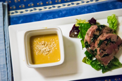 soup and terrine