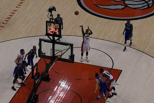 Rudy Gay's First Penalty Shot as a Raptor