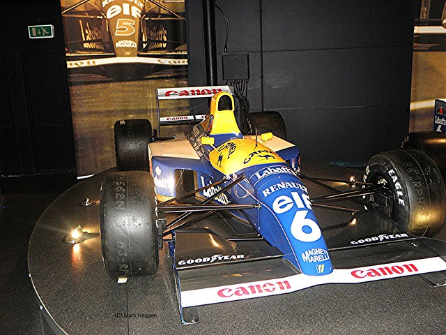 Riccardo Patrese's 1992 FW14B