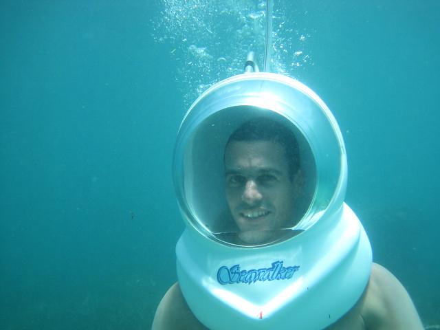 Seawalker in Bali
